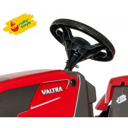 Rolly Toys Traktor na pedały Valtra z przyczepką